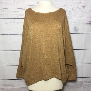 Sweaters - Boutique Mustard Brown Sweater